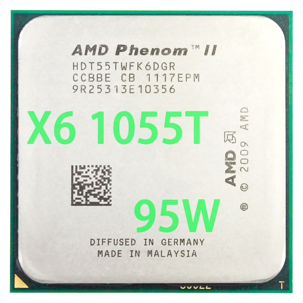 Amd Phenom Ii X6 1055t Cpu Processor Six Core 2 8ghz 6m 95w Socket Am3 Am2 938 Pin Buy Products Online With Ubuy Lebanon In Affordable Prices 32870068616