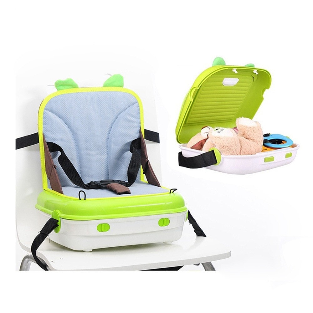 Buy Multifunction Portable Baby Dining Chair Booster Seat Child Table Safety Seat Storage Box Waterproof Travel Portable Baby Seat Online In Lebanon 32856272073