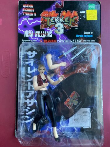 Tekken 3 Nina Williams Action Figure By Epoch Palisades Marketing New On Card Buy Products Online With Ubuy Lebanon In Affordable Prices 333555177140