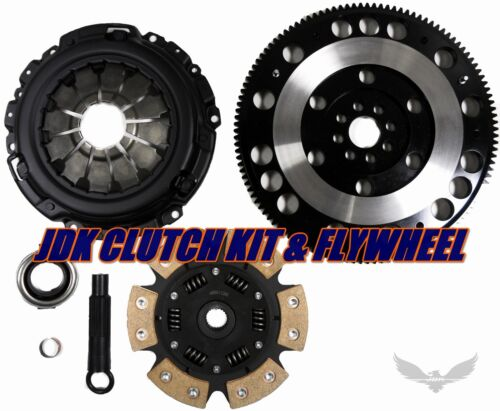 6-Puck Disc Stage 3; Flywheel Spec: +.020; Engine: 5SFE Clutch Kit Works With Toyota Mr2 Solara Celica Camry Le Se Dx Base Le All Trac 1990-2001 2.2L l4 GAS 2.2L l4 GAS DOHC Naturally Aspirated