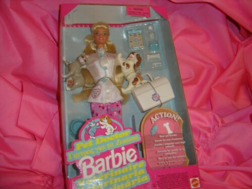 Pet Doctor Barbie Doll By Mattel 1996 Foreign Issued Buy Products Online With Ubuy Lebanon In Affordable Prices 373069489048