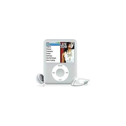 Packaged in White Box with Generic Accessories /… M-Player iPod Nano 4GB Silver 3rd Generation
