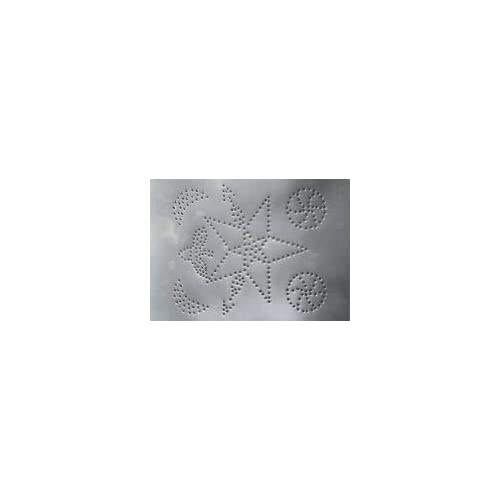 Unplated Steel Star With Arrows Pattern Pie Safe Tin Panel 10 High X 14 Wide Punched Tin Panels For Original Pie Safe Cabinet Bread Boxes Kitchen Furniture T 2202 1