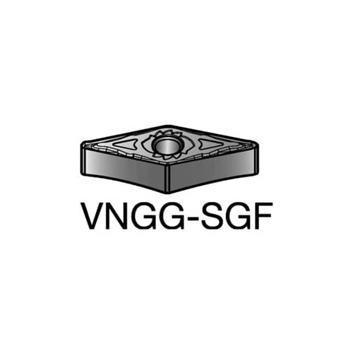 Pack of 10 Sandvik Coromant CNGG120404-SGFH13A T-Max P insert for turning