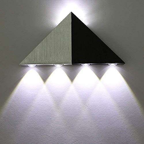 Buy Lightess Modern Sconces Up Down 5w Led Wall Sconce Lights Triangle Shape Decorative Mini Lamp For Bathroom Vanity Lighting Cold White Online In Lebanon B017b2sbw8