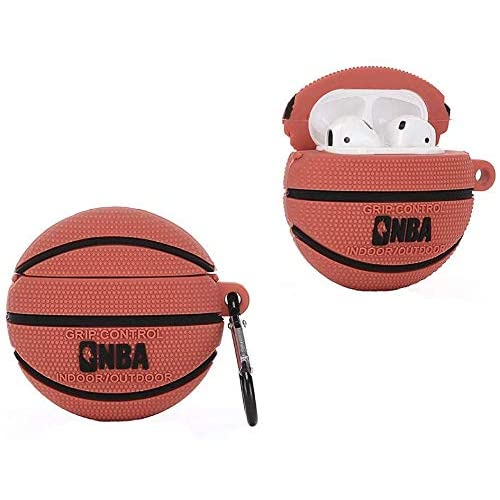 Basketball Compatible With Airpods Pro Case Silicone Cute Cartoon
