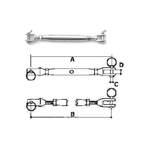 Marine Part Depot Stainless Steel 316 Mast Step
