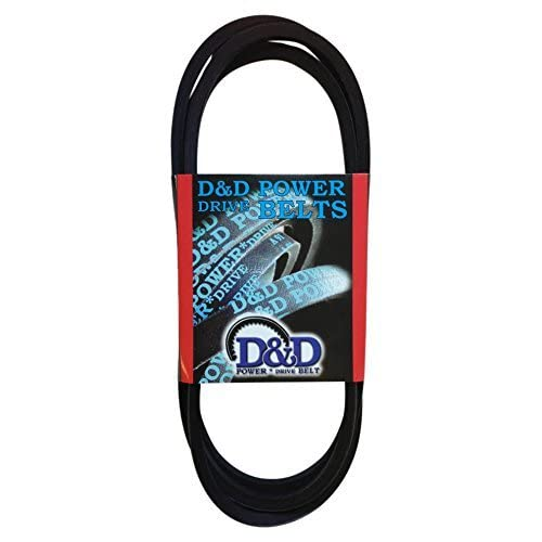 Rubber 17 Length D/&D PowerDrive ORB-H-1014 Cogged Lathe Belt fits Jet Grizzly and Harbor Freight XL Belt Cross Section