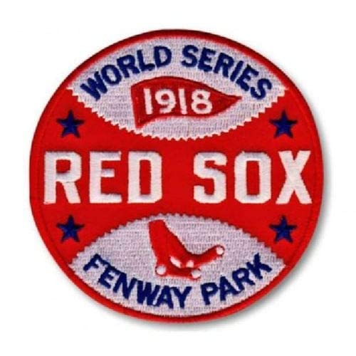Shipping Begins November 15TH Baseball RED SOX World Series Champions Patch 2018 World Series Champs Patch Embroidered Sleeve Style Patch 4 PRE-Order Item