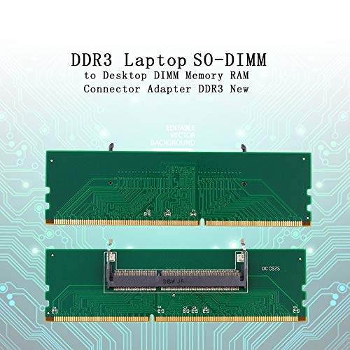 Professional Ddr3 Laptop So Dimm To Desktop Dimm Memory Ram Connector Desktop Adapter Card Memory Tester Green Buy Products Online With Ubuy Lebanon In Affordable Prices B07p5m6wtr