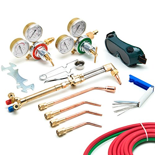 TURBO-CORE X3B Air Acetylene Brazing And Soldering Professional Series Plumbing and HVAC Kit COR X3B