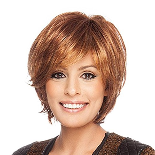 Blonde Unicorn Natural Human Hair Wigs For Women Auburn Short Style Hair Wig Buy Products Online With Ubuy Lebanon In Affordable Prices B07ntqfn34