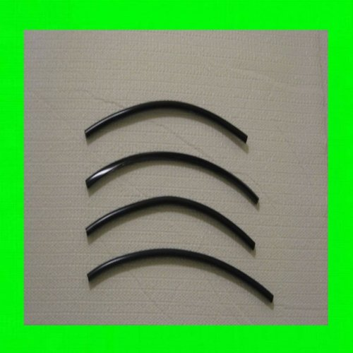 312 Motoring fits 2007-2012 Mitsubishi Eclipse Carbon Fiber ROOF Trim MOLDINGS 2PC 2008 2009 2010 2011 07 08 09 10 11 12