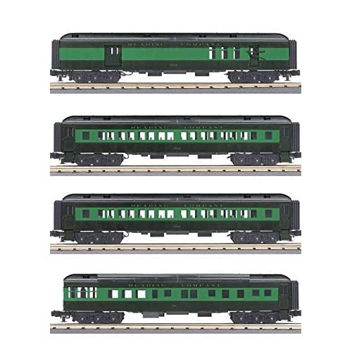 MTH TRAINS; MIKES TRAIN HOUSE Reading 4 CAR 60 Madison Set