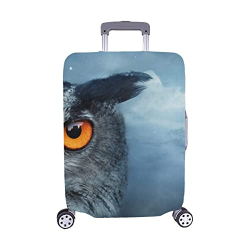 Houses Spandex Trolley Case Travel Luggage Protector Suitcase Cover 28.5 X 20.5 Inch