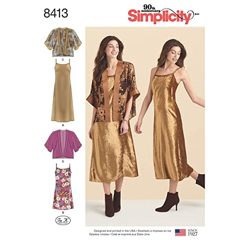 Vest, Simplicity Vintage Simplicity Creative Patterns US8506A Sleeves for Tops