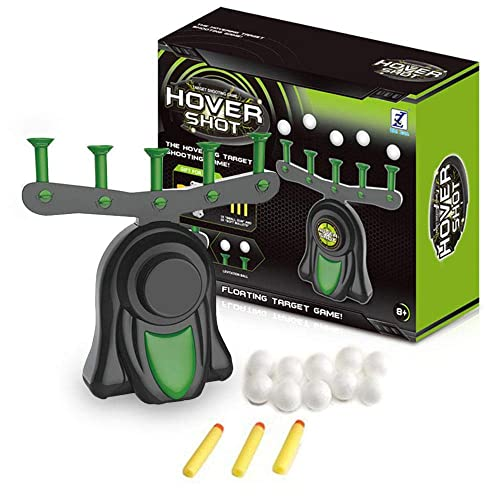 Volwco Hover Shot Floating Target Game Set 2019 Newst Electric Floating Target Airshot Practice Toys With 3 Foam Darts 10 Floating Balls Ball Targets For Kids Children Game A Buy Products Online