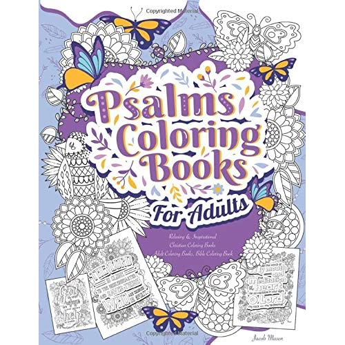 Psalms Coloring Books For Adults Relaxing Inspirational Christian Coloring Books Adult Coloring Books Bible Coloring Book Bible Verse Coloring Books For Adults Paperback March 15 2020 Buy Products Online