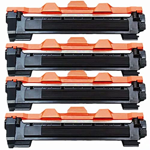 No-name Compatible 4 Pack High Yield Black Toner Cartridge Replacement for Brother TN 660 2320 2325 2345 2350 2375 28J HLL2360DN HLL2300DR HLL2340DWR HLL2360DNR HLL2365DWR Laser Printer