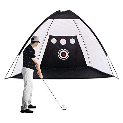 Xcsource Golf Practice Net Golf Hitting Nets With Chipping Target Pockets Carrying Bag Training Aids Practice Net Improve Accuracy For Outdoor Indoor Sports Home Backyard Park Buy Products Online With Ubuy