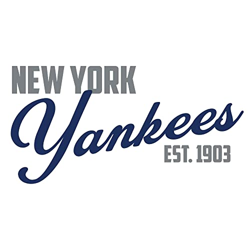 Buy New York Yankees Baseball Vinyl Wall Decal Sports Team Decoration For Living Room Office Bedroom Mlb Themed Home Decor Available In Blue Gray Other Colors Online In Lebanon B075csyfs7