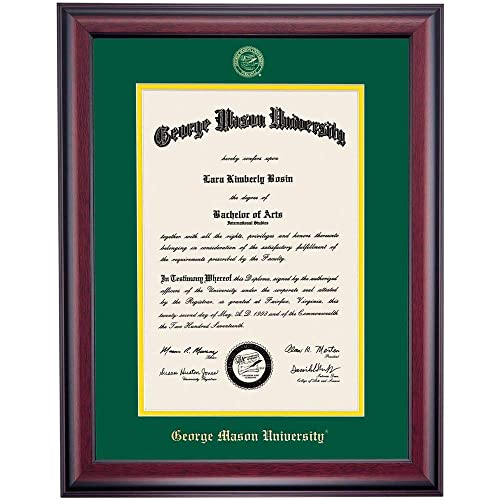 Buy Ocm Diploma Frames George Mason University Patriot Displays Diploma Certificate Mat Home Office Office Professional Education Framed Diploma Graduation Gifts Custom Frame Wall Decor Online In Lebanon B07x14ttsm