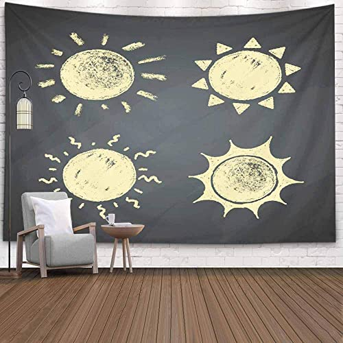 Buy Crannel Wall Tapestry Tapestry For Women Chalk Drawings Sun Chalkboard Tapestry 80x60 Inches Wall Thanksgiving Fall Tapestries Christmas Hanging For Dorm Room Living Home Decorative Online In Lebanon B082xq7jrt