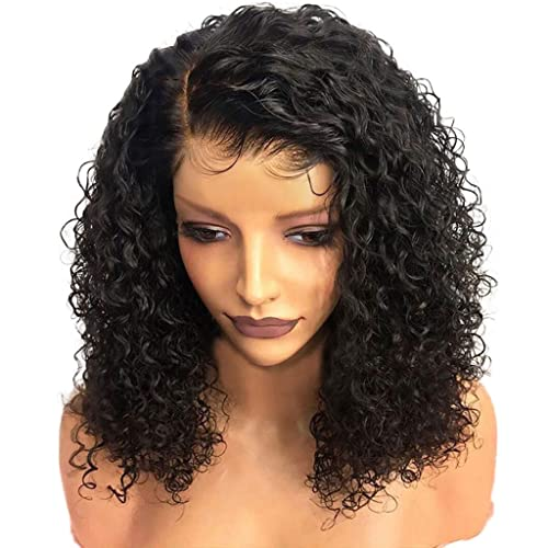 Xindda Brazilian Rose Hair Net Full Wig Bob Wave Black Natural Looking Women Wigs,Fashion Hairstyles Custom Cosplay Party,Ship from USA You Can Get The Item Within 7 Days