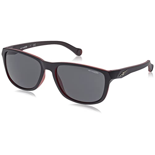 Arnette Mens Kreuzberg Rectangular Sunglasses Red 55 mm