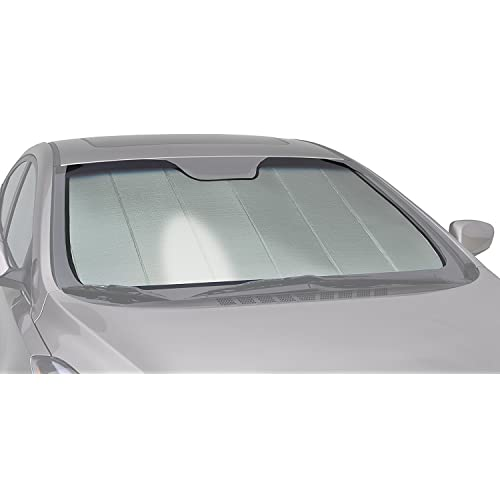 Intro-Tech TT-89-S Silver Custom Fit Windshield Snow Shade for Select Toyota Prius Models