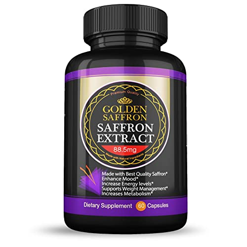 Golden Saffron Saffron Extract 8825 Vegetarian Best All Natural