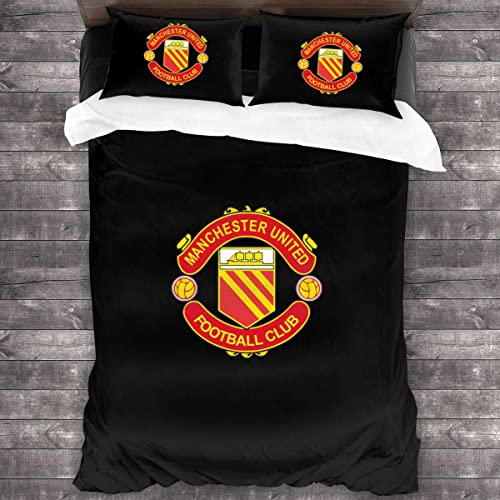 Kmyurool Manchester United F C Logo Comforter Bedding With Sheet Set And Decorative Pillows Shams 3 Piece Pillowcase 86 X70 Buy Products Online With Ubuy Lebanon In Affordable Prices B085rqmcjs