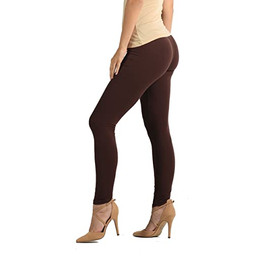 Cromoncent Girl Winter Sherpa Lined Thicken Tight Stretch Pants Leggings