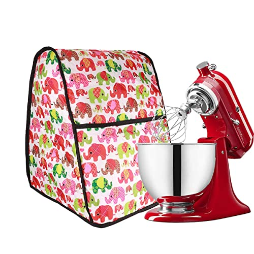 Buy Stand Mixer Cover Compatible With 4 5567 Quart Kitchenaid Mixer Cloth Dust Cover With Pocket For Extra Attachments Kitchen Dust Proof Cover Online In Lebanon B07y655dks