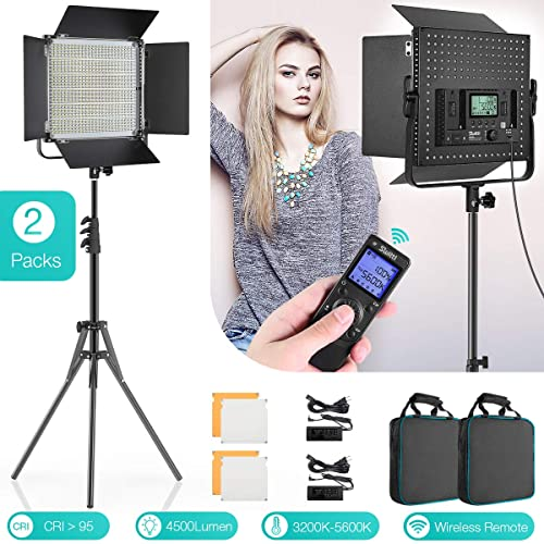Switti Ring Light with Stand and ipad Holder,Makeup LED Ring Lights 60W Bi-Color 3000K-5800K CRI/≥97 /& TLCI /≥99 for YouTube Facebook Live,Twitch and Blogging Black