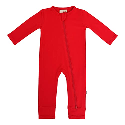 KYTE BABY Soft Bamboo Rayon Rompers Zipper Closure 0-24 Months