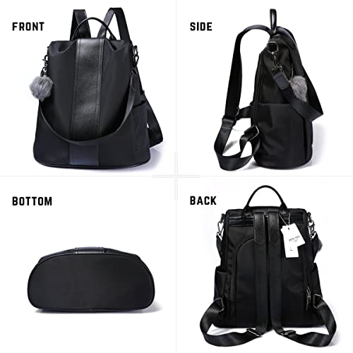 b9fc6eece28 Buy Women Backpack Purse Waterproof Nylon Anti-theft Rucksack ...