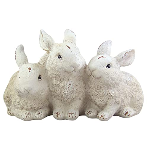 Decorative Distressed Resin Three Bunny Rabbit Garden Statue 9 12 Inches Buy Products Online With Ubuy Lebanon In Affordable Prices B07pppt646