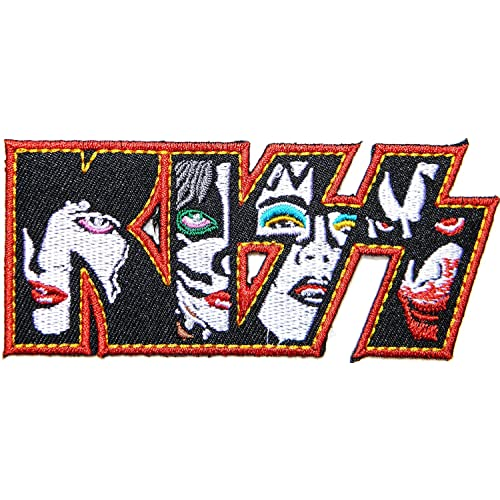 KISS Heavymetal Rock Band Embroidered sew// iron on patch badge for cloth