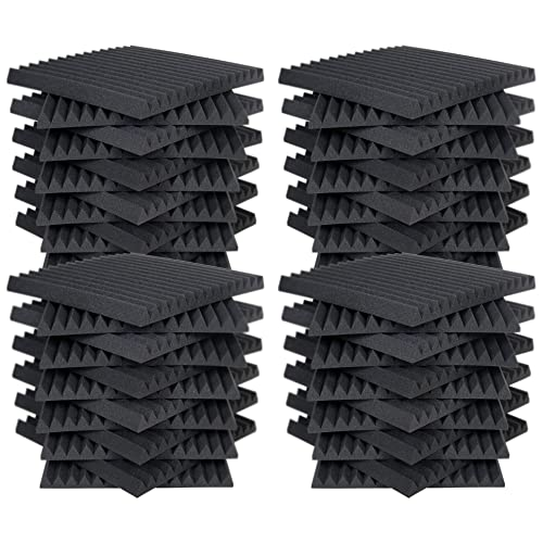 Ad... High Acoustic Panels Studio Soundproofing Foam Wedge Tiles AK TRADING CO