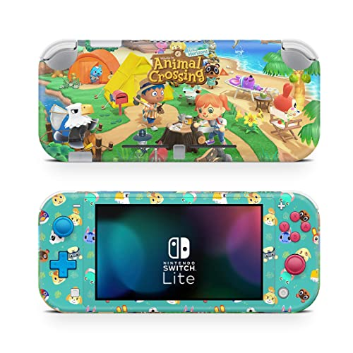 Animal Crossing New Horizons Game Skin For Nintendo Switch Lite