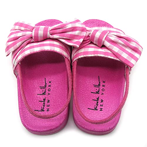 nicole Miller New York Toddler and Little Girls Slide Sandals