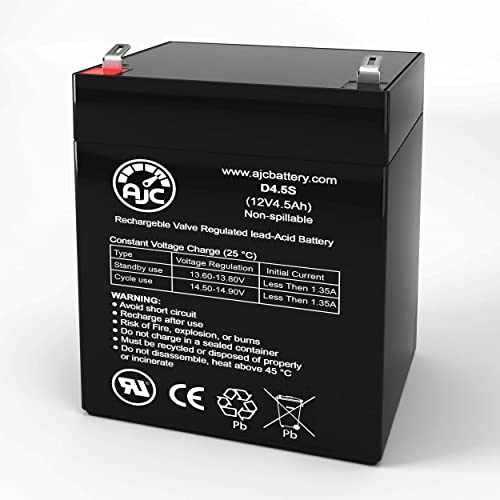 6 Pack Brand Product Mighty Max Battery 12V 5AH SLA Replacement Battery for SL Waber 500 UPS