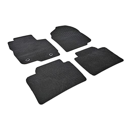 All Weather Heavy Duty Floor Mat Set Autotech Park Custom Fit Car Floor Mat Compatible with 2015-2019 Jeep Renegade SUV