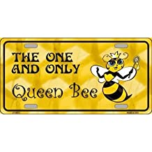 BEE BLESSED METAL NOVELTY LICENSE PLATE TAG