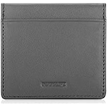 Black Leather Squeeze Coin Purse For Men and Women Holds Coins and Dollars By NPGD