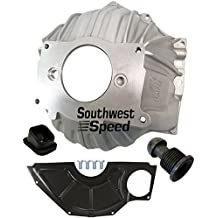 WILL FIT CHEVY AND FORD ENGINES WITH THE NECESSARY FLYWHEEL NORTHEASTDIRT MODIFIEDS NEW BERT ALUMINUM BELLHOUSING WITH IDLER GEAR ASSEMBLY FOR NEW ENGLAND DIRT MODIFIED 300-NFC
