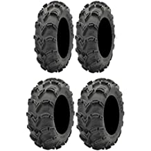 BKT 171 Tires 4x137 Bolt Pattern 10mmx1.25 Lug Kit 9 Items: Fuel Triton Black 18 Wheels 33x8 Bundle 6ply