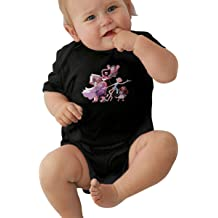 LuckyTagy The Big Bang Theory Unisex Cool Newborn Baby Romper Baby BoyBodysuit Black