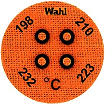 126 Pack of 10 132 and 137 degrees C 121 Wahl Instruments 101-4-121VC Mini Four-Position IC Batch and Vacuum Chamber Temp-Plate
